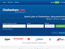 Tablet Preview of cheltenham-jobs.co.uk